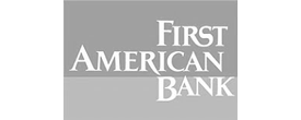 First American Bank logo