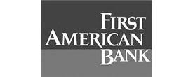 First American Bank logo