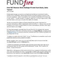 How Will Remote Work Reshape Private Fund Deals, Sales Teams-FT FundFire-9.30.20_Page_1